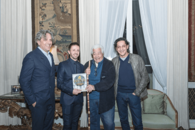 Danilo Cortellini cookbook launch